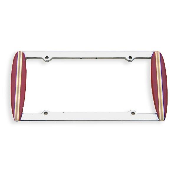 Maroon Lisence Plate Frame