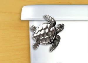 Toilet Flusher Handle Turtle