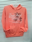 Dana Point Hoody in Cantaloupe