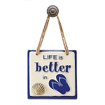 Life is better in ...Plaque