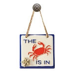 The Crab is in Plaque