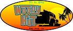 Woody Hut Decal
