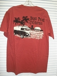 VW Bus T-Shirt in Chili
