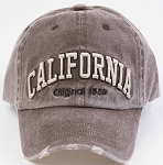 Brown CALIFORNIA Cap