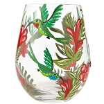 Hummingbird stemless Glass