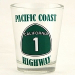 Pacific Coast Highway Shot Glass