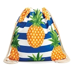 2in 1 Beach Towel Pineapple Stripes