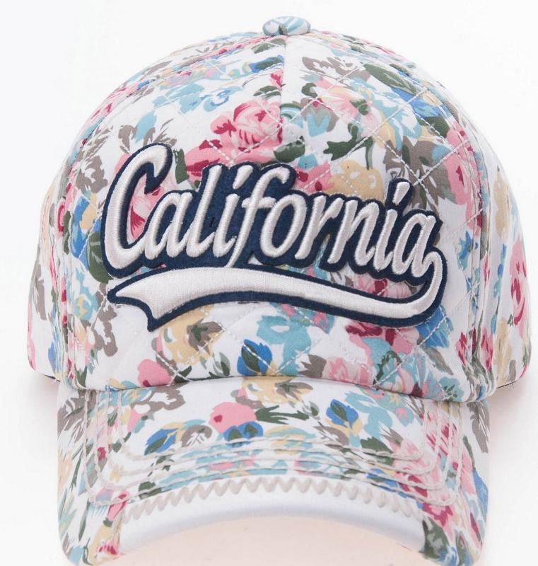 Floral Baseball Cap a0c931a6634