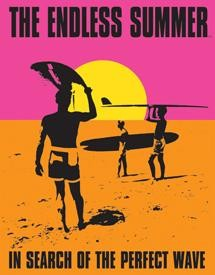 Metal Sign Endless Summer Poster