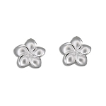 Plumeria post Earrings sm