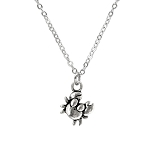 Crab Charm Necklace