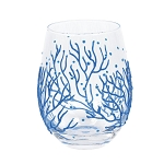 Stemless Glass Coral
