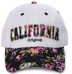 California Floral Cap