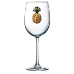 Stemmed Glass Pineapple
