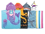 Kids Beach and Bath Towel