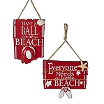 Wooden Beach Ornaments / Decor