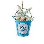Beach Bucket Ornament 2
