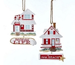 Beach Cottage Ornament