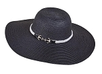 Floppy Hat with Belted Anchor
