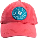 Beach Life Cap in Coral
