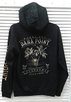 Black Palm Tree Hoody