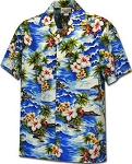 Boys Junior Aloha Floral  Shirt