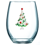 Stemless Glass Christmas Tree
