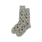 Nautical Icon Socks