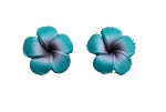 Jennibeans Mini Plumeria Earrings