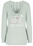 Ladies Good Times Zen Pullover / Buddy by the Sea
