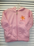 Pink Full Zipper Hoody