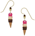 Sienna Sky Ice Cream Cone Earrings