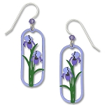 Sienna Sky Iris Earrings
