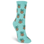 Pineapple Crew Socks