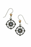 Sienna Sky Compass Earrings