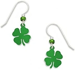 Sienna Sky 4 Leaf Clover Earrings