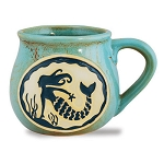 Mermaid Bean Pot Mug