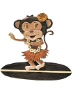 Surfing Monkey