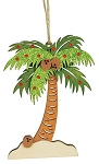 Wooden Palm Ornament