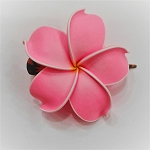 Single Plumeria Hair Clip