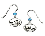 Otter Earrings 2