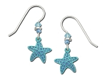 Sienna Sky Blue Starfish Earrings