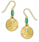 Sienna Sky Sand Dollar Earrings