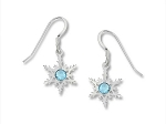 Sienna Sky Snow Flake Earrings