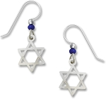Sienna Sky Star of David Earrings