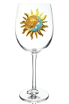 Stemmed Glass Sun and Moon Limited Edition
