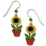 Sienna Sky Sunflower Earrings