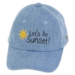 Sunset Denim Cap
