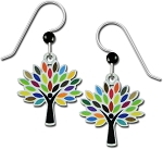 Sienna Sky Tree Earrings