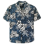Tropical Hibiscus Aloha Shirt